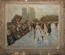 Andre Gisson original oil painting