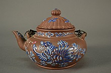 Yixing Enamel Tea Pot size: 6