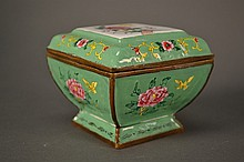 Canton Enamel Box size: 3.5