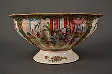 Rose Medallion Bowl size: 9.75