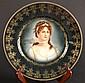 Berlin Marked Gilded Cabinet Plate Berlin Marked Gilded Cabinet Plate, decorated with a lady.Size : 9.75