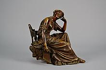 Bronze Sculpture of Lady 11