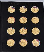 A COLLECTION OF 120 SILVER MEDALS ?THE MEDALLIC HISTORY OF THE JEWS IN AMERICAN AND AA GROUP OF 10 SILVER MEDALLIONS