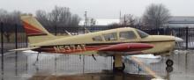1972 Piper aka arrow II airplane