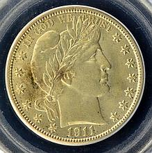 1911 Barber Half Dollar PCGS MS 64
