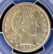 1915-D Barber Half Dollar PCGS MS 64