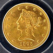1895 $10 Liberty Head Gold Eagle PCGS MS 63