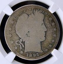 1897-S Barber Half Dollar NGC Fair 2