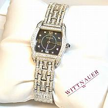 Lady's Stainless Witten Auer Crystal Watch