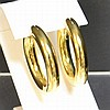 18kyg Hoop Earrings