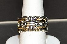 Lagos Caviar Sterling 18k Ring
