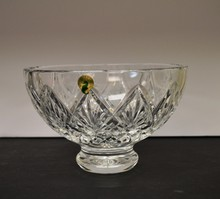 Crystal Waterford bowl made in Ireland