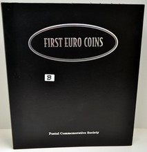 Album with 12 Sets of First Euro Coins