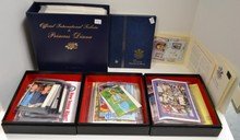 3 Box Lot of 95 Princess Diana Souv. Sheets&Stamps