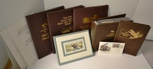 Album of 40 State Duck Stamps + 3 FDC Folios +