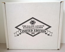 Sealed L/E 2002 Topps Major League Baseball Cards