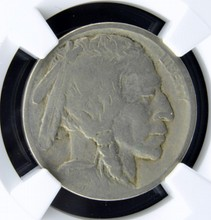 1913 D Buffalo Nickel Type 2 NGC F 12