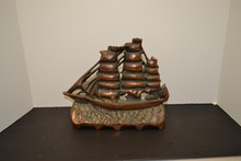 Ship Cast Iron door stop