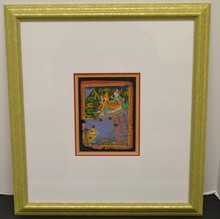 1840's Indian miniatures Gouache on paper