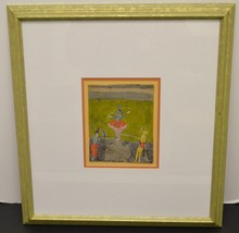 1790's Indian miniatures Gouache on paper
