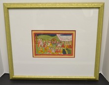1840's Indian miniatures Gouache and gold on paper