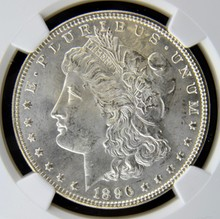 1896 Morgan Silver Dollar NGC MS 64+