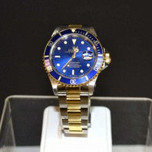 Man's 18k & Stainless Rolex Submariner Watch