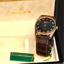 Man's 18k Rolex Cellini Danaos Watch