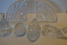 Six Pieces of Waterford Crystal