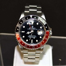 Man's Stainless Rolex GMT Master II Watch