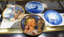 Five Decorative Plates