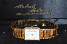 Man's 14kyg Michael Anthony Quartz Watch