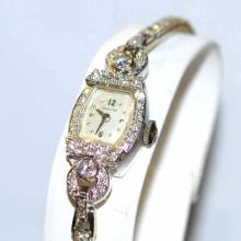 Lady's 14kwg Hamilton Diamond Watch