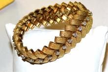 18kyg Diamond Bracelet 3ctw