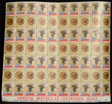 U.S. 1954 Republican Party 100 Year Seals MNH VF