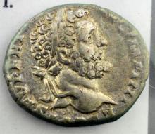 193-211 AD Septimius Severus Ancient Coin Mars Stg