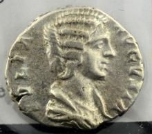 Julia Domna Ancient Coin Venus Stg VF