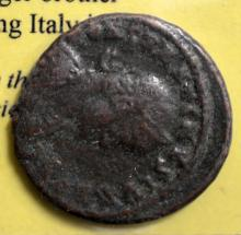 337-340 AD Constantius II Ancient Coin Circulated