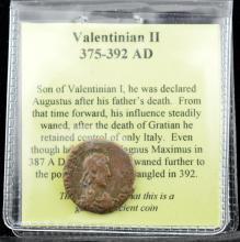 375-392 AD Valentinian Emperor Ancient Coin