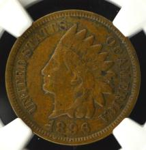 1896 Indian Head Cent NGC XF45 BN