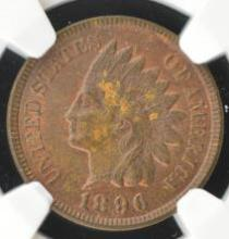 1896 Indian Head Cent NGC MS 62 BN