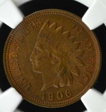1906 Indian Head Cent NGC MS64 RB