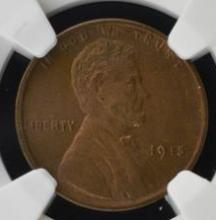 1915 Lincoln Cent NGC MS 64 BN