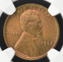 1923 Lincoln Cent NGC MS65 RB