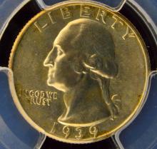 1939 S Washington Quarter Dollar PCGS MS 66