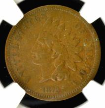 1872 Indian Head Cent NGC VF 20 BN