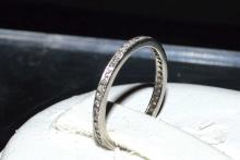 14kwg Diamond Eternity Band .50ctw #1498