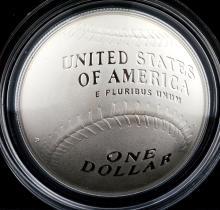 2014 National Baseball Hall of Fame PF Silver $1