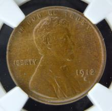 1912-S Lincoln Cent NGC MS 63 BN