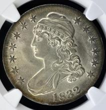 1832 Capped Bust Half Dollar NGC MS 62